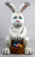 Spring Time Bunny by Dale Green Wood Carving